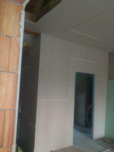 Dachetage während des Umbaus